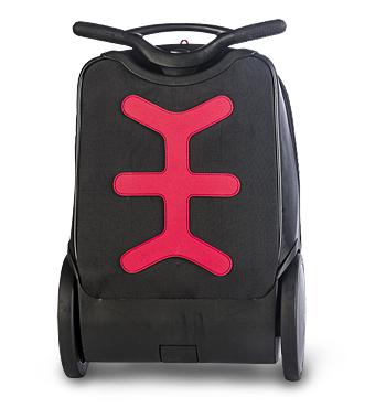 Рюкзак на колесиках Roller White Fire Nikidom Белый Огонь арт. 9019 (19 литров), - фото 7