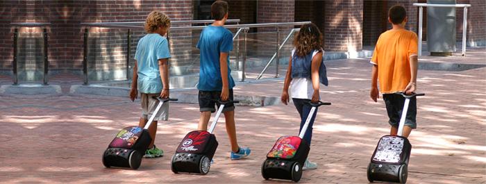 Рюкзак на колесиках Roller White Fire Nikidom Camo арт. 9024 (19 литров), - фото 7