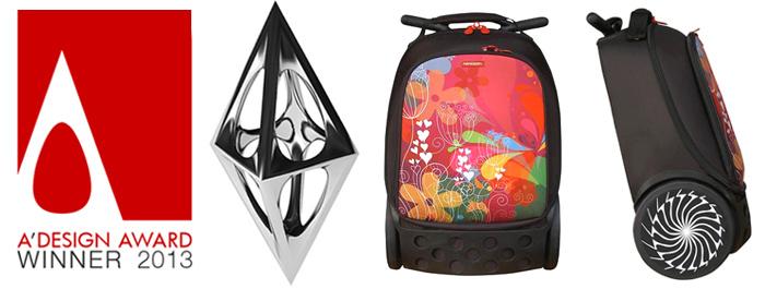 Рюкзак на колесиках Roller White Fire Nikidom Camo арт. 9024 (19 литров), - фото 3
