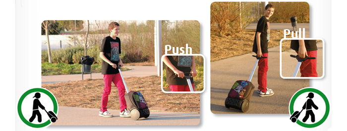 Рюкзак на колесиках Roller White Fire Nikidom Camo арт. 9024 (19 литров), - фото 4