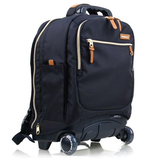 Школьный рюкзак на колесах - ранец Wheelpak Classic Navy - арт. WLP2201 (для 3-5 класса, 21 литр), - фото 2