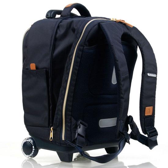 Школьный рюкзак на колесах - ранец Wheelpak Classic Navy - арт. WLP2201 (для 3-5 класса, 21 литр), - фото 7