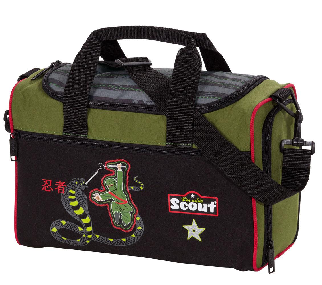 Ранец Scout Sunny Ниндзя с наполнением 5 предметов, - фото 6