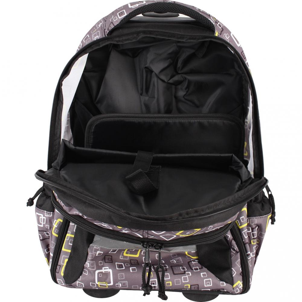 Рюкзак на колесиках с выдвижной с ручкой Belmil BLUE MAGIC 338-45/772, - фото 8