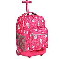 Универсальный школьный рюкзак на колесах JWORLD Sunrise арт. RBS18 Aloha