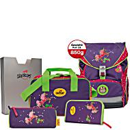 Школьный ранец DerDieDas ErgoFlex с наполнением Единорог + нагрудный ремень