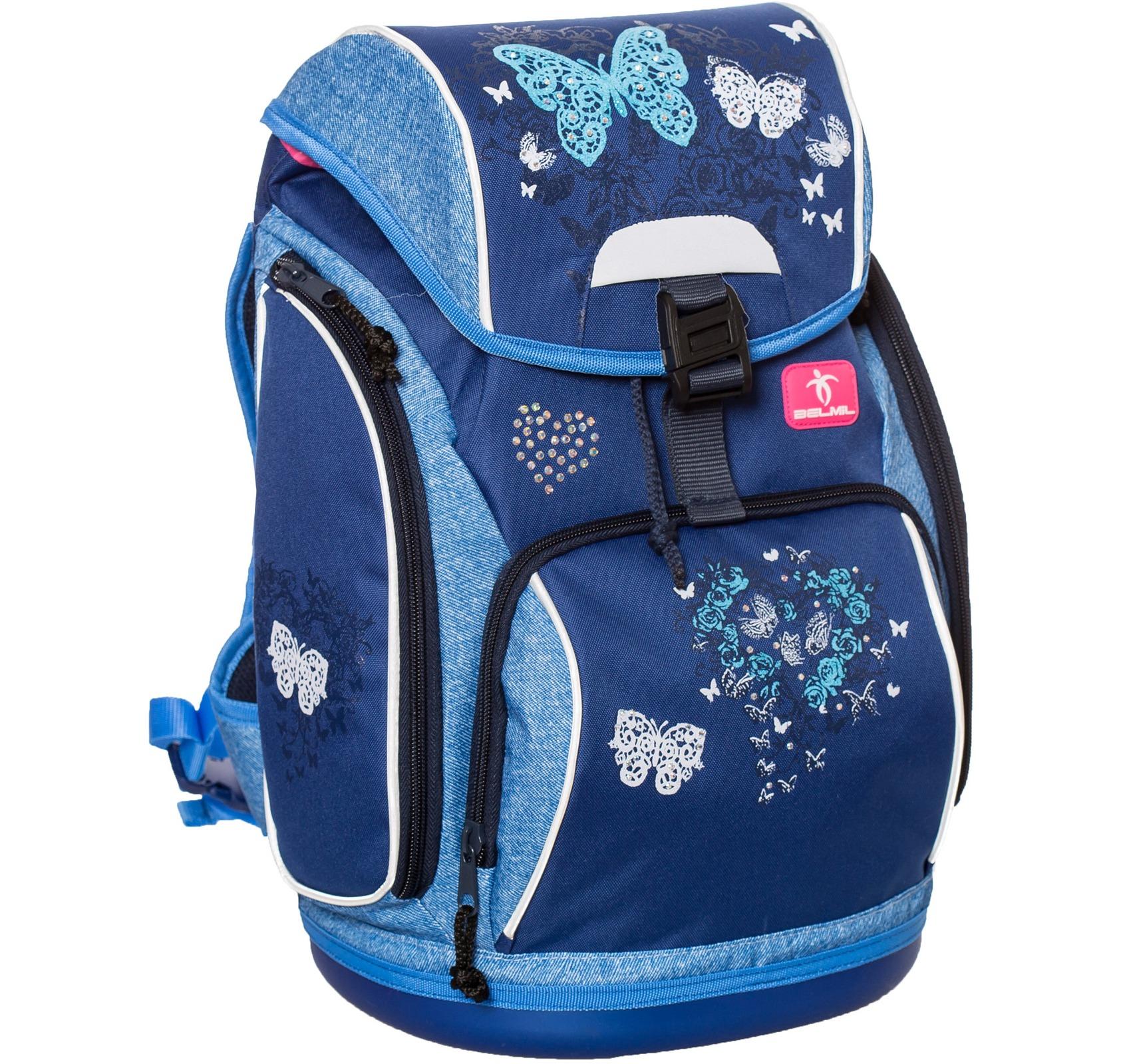Ранец-рюкзак Belmil 404-31/467 цвет Butterfly Новинка, - фото 2