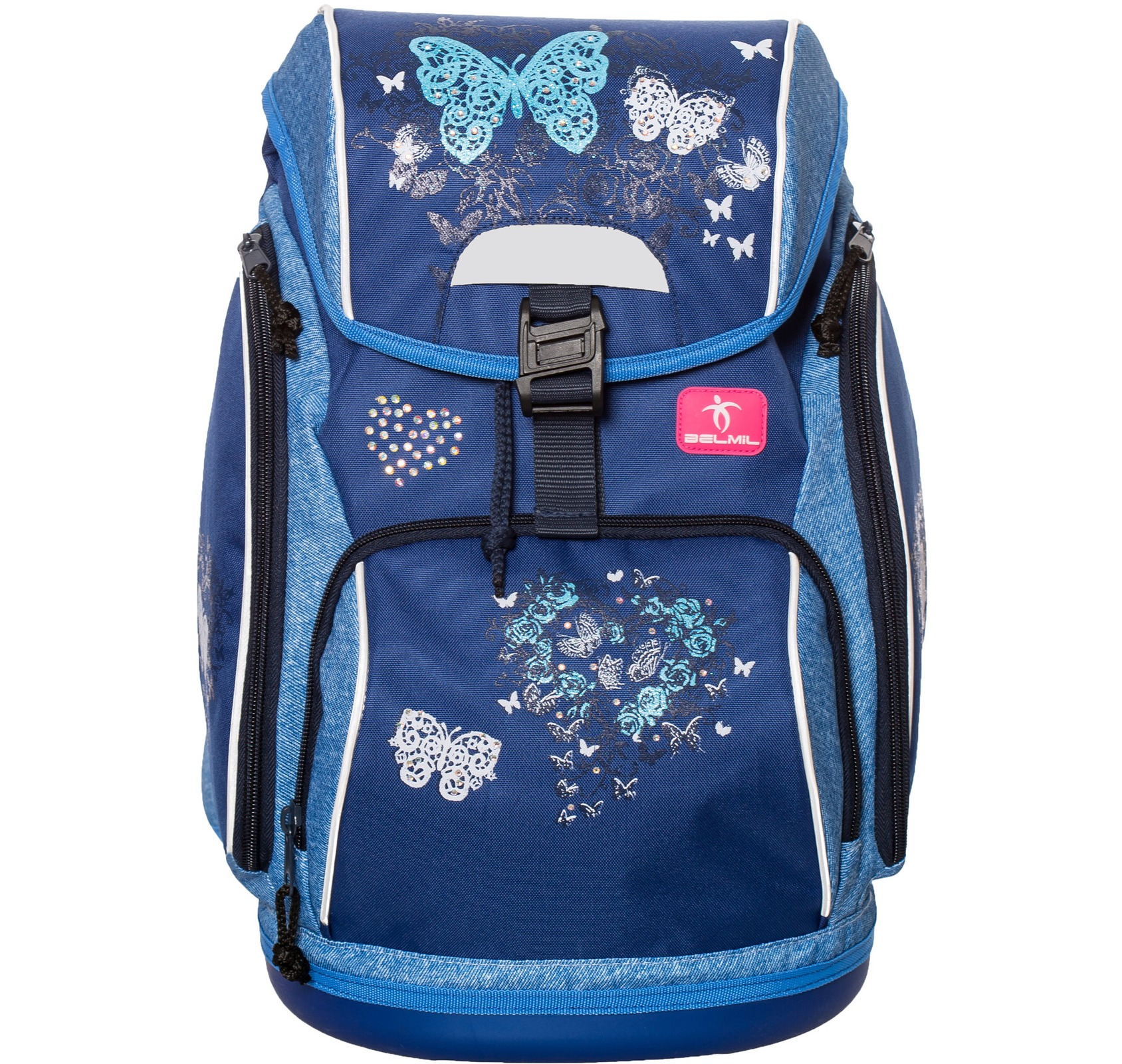 Ранец-рюкзак Belmil 404-31/467 цвет Butterfly Новинка, - фото 1