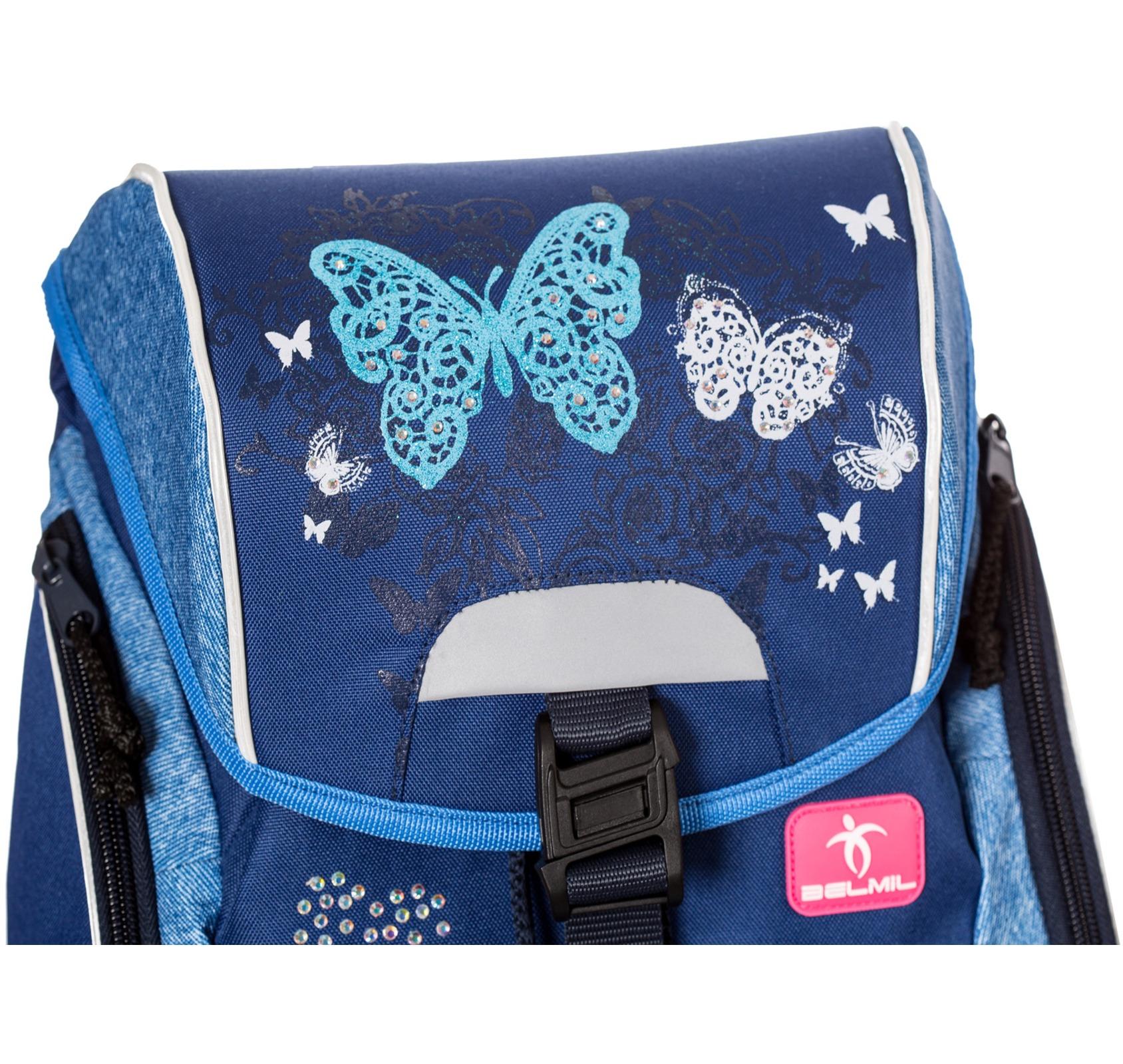 Ранец-рюкзак Belmil 404-31/467 цвет Butterfly Новинка, - фото 3