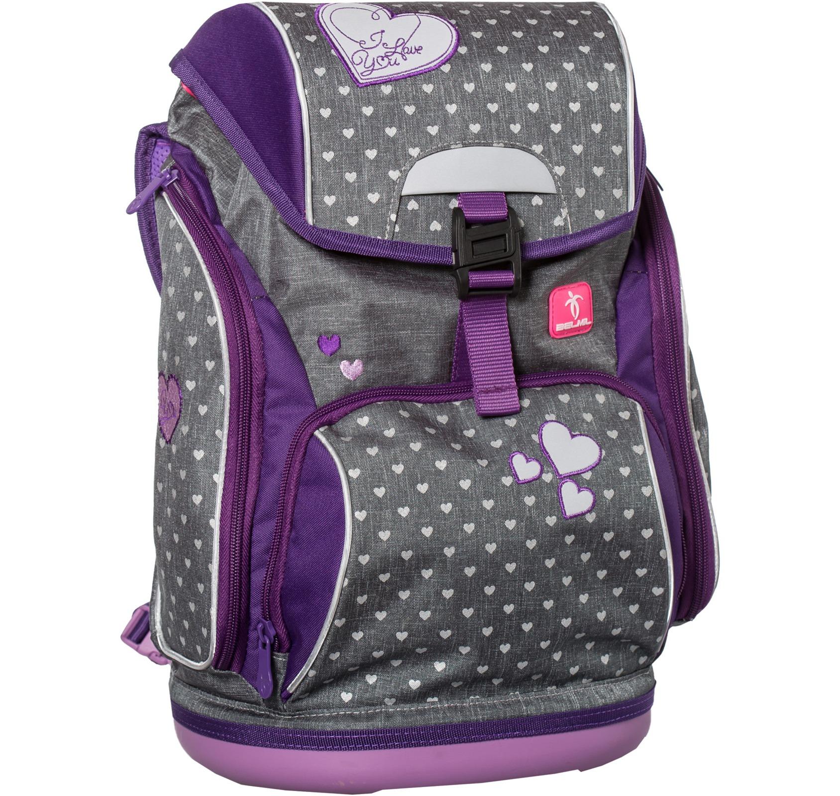 Ранец-рюкзак Belmil 404-31/468 цвет Heart Новинка, - фото 3
