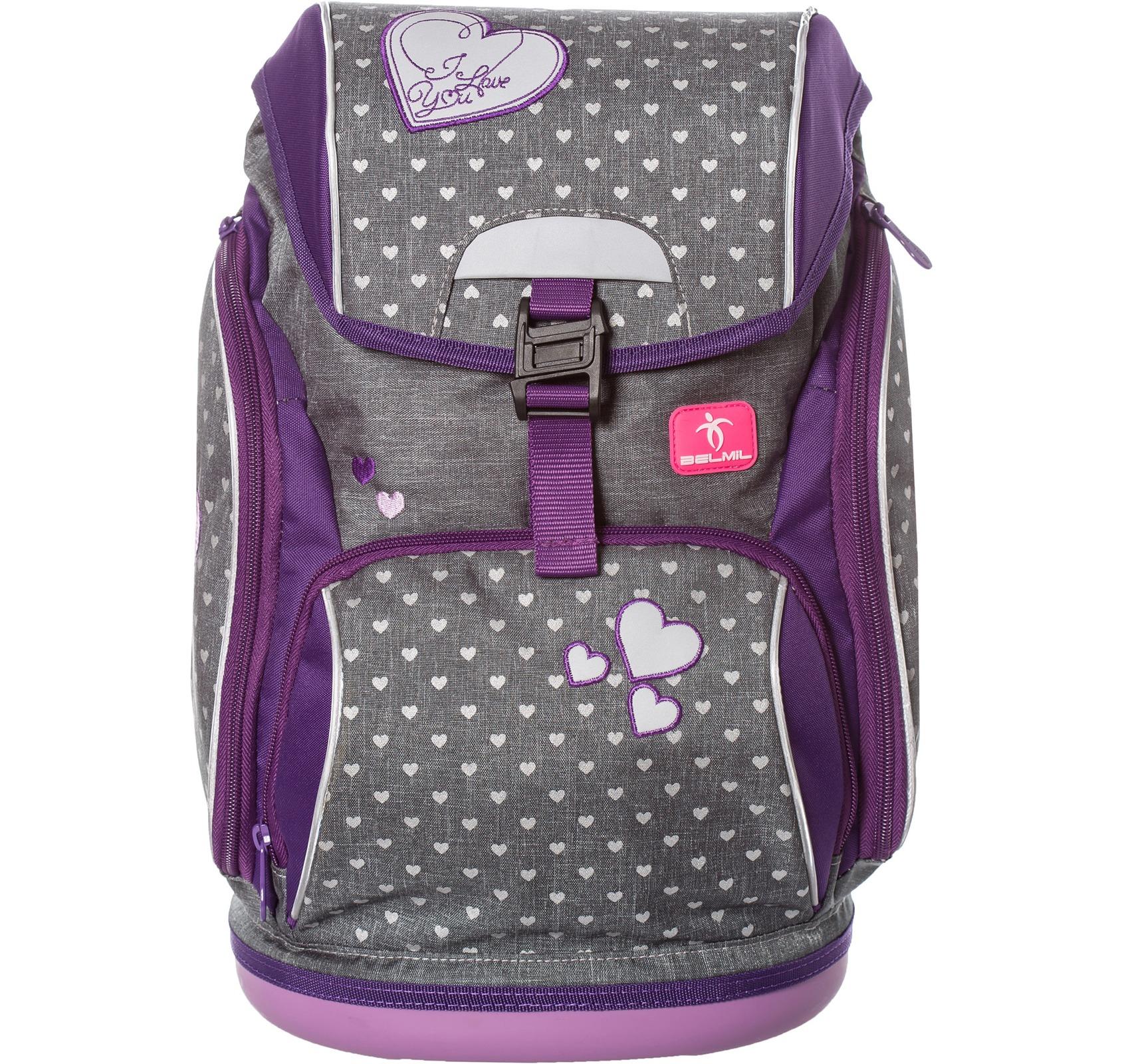 Ранец-рюкзак Belmil 404-31/468 цвет Heart Новинка, - фото 1