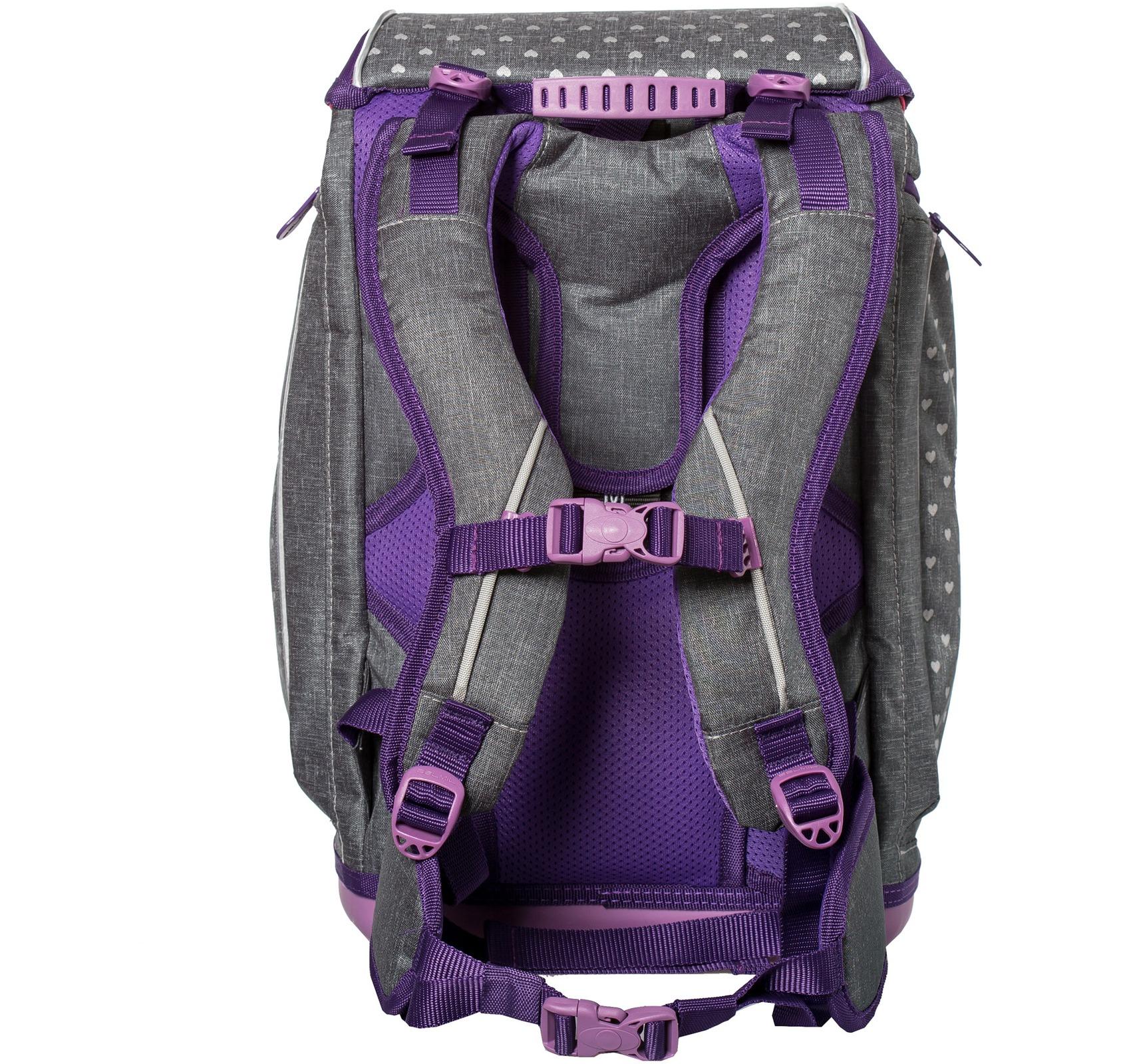 Ранец-рюкзак Belmil 404-31/468 цвет Heart Новинка, - фото 6