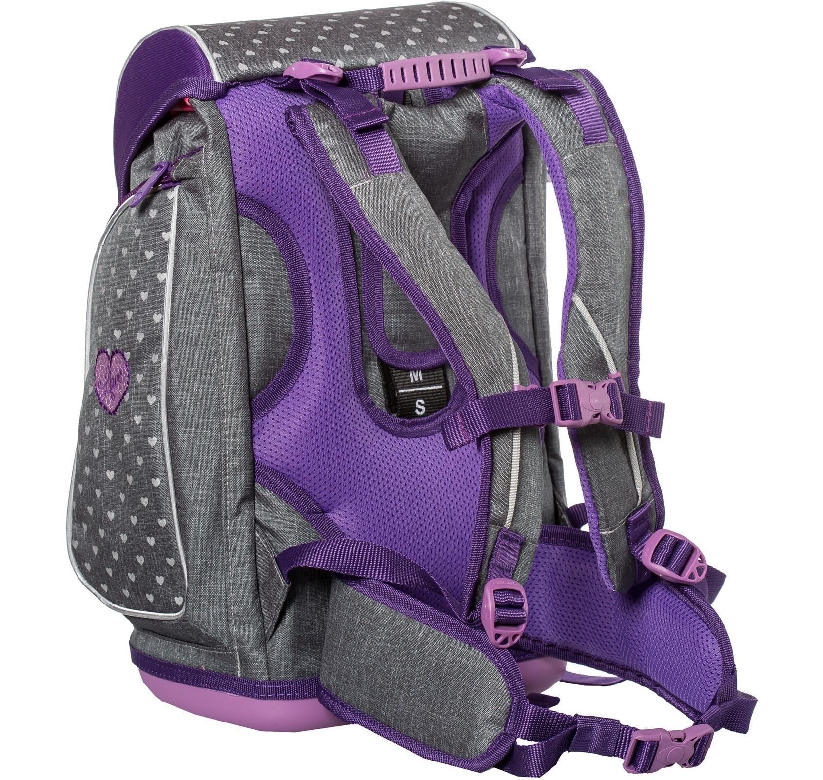 Ранец-рюкзак Belmil 404-31/468 цвет Heart Новинка, - фото 5