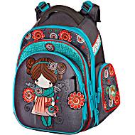 Ранец Hummingbird KIDS TK19 Девочка с мешком для обуви