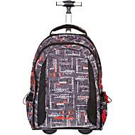 Рюкзак на колесах BELMIL 338-45/419 CRAZY URBAN BLACK