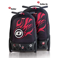 Рюкзак на колесиках Roller White Fire Nikidom Camo арт. 9024 (19 литров), - фото 10
