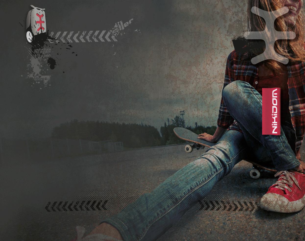 Рюкзак на колесиках Roller White Fire Nikidom Camo арт. 9024 (19 литров), - фото 9