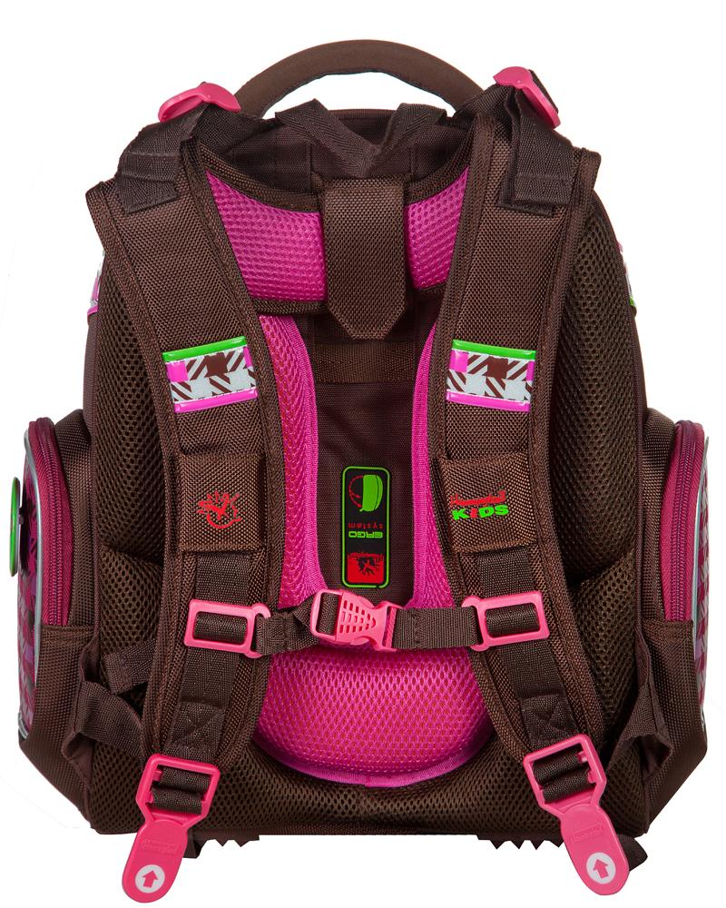 Школьный рюкзак Hummingbird TK42 официальный с мешком для обуви, - фото 3