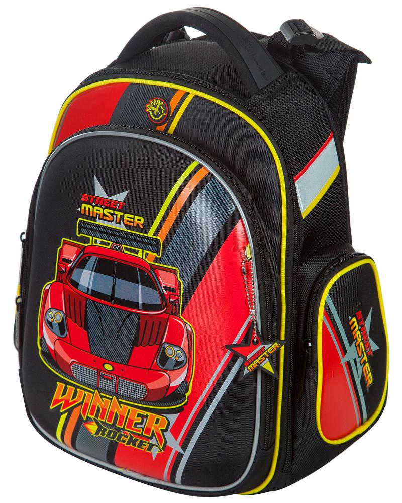 Школьный рюкзак Hummingbird TK43 официальный с мешком для обуви, - фото 1
