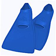 Ласты SwimSafe детские закрытая пятка для бассейна резиновые размер - 26 синие СВИМСЕЙФ Германия
