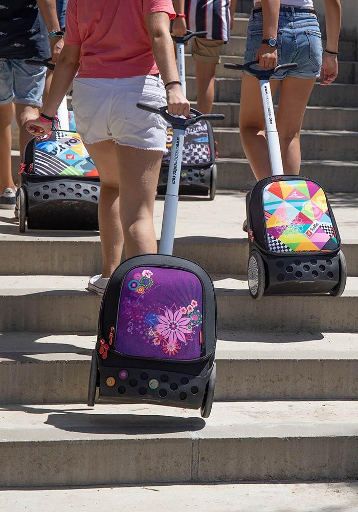 Рюкзак на колесах Nikidom XL Bloom  Испания арт. 9323 (27 литров), - фото 4