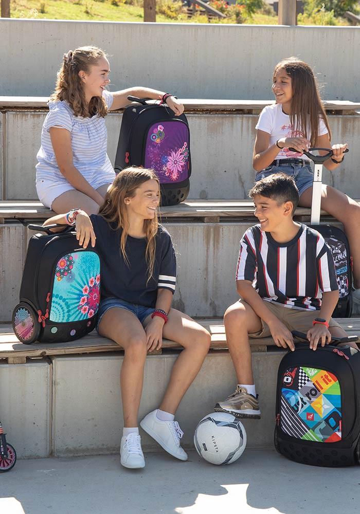 Рюкзак на колесах Nikidom Reef Испания  арт. 9322 (27 литров), - фото 10