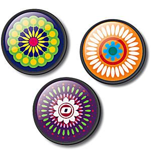 Значки для рюкзака Nikidom Испания Мандала