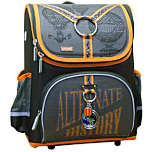 Школьный рюкзак раскладной Mike&Mar Майк Мар Воздухоплаватель + пенал